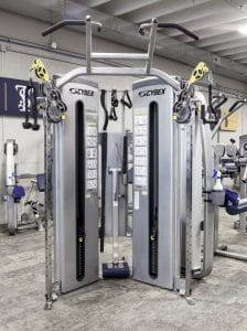 Training Station cybex cable machine