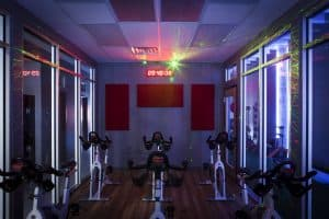 Training Station laser cycling