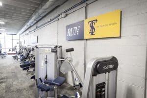 Training Station leg machine