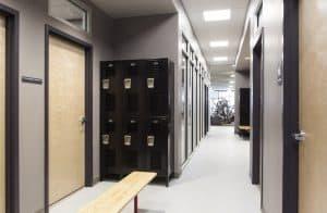 Training Station lockers
