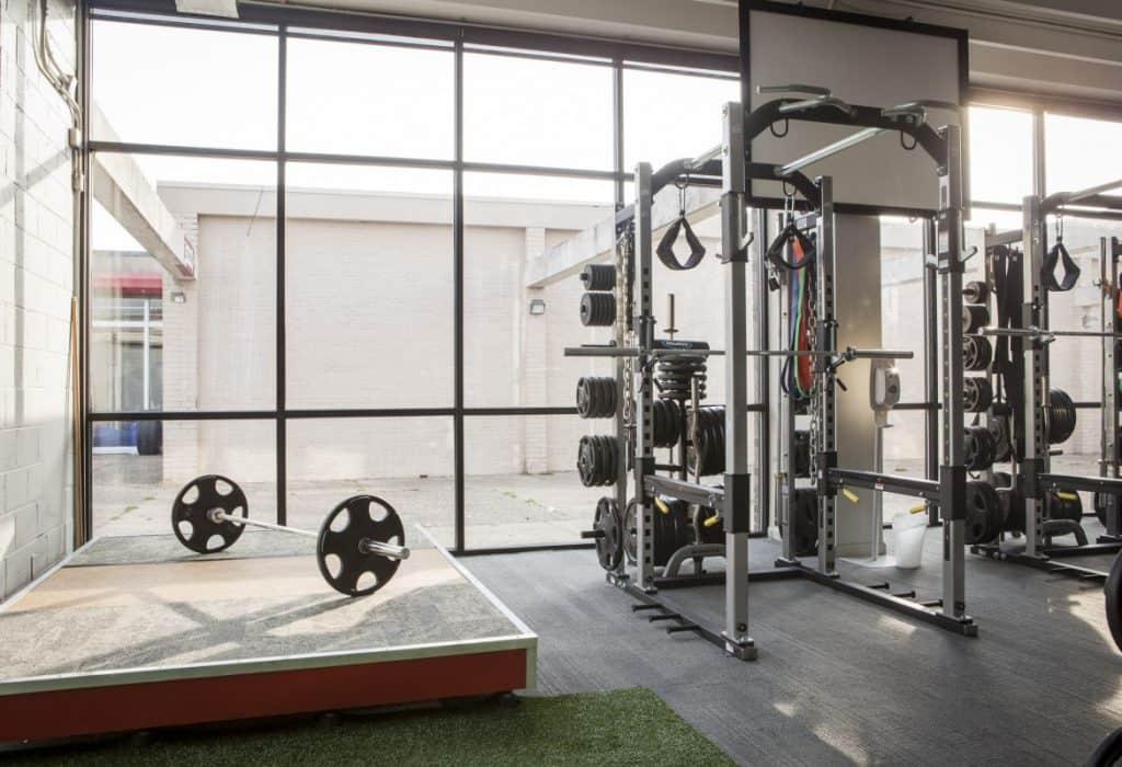 Training Station rack and platform