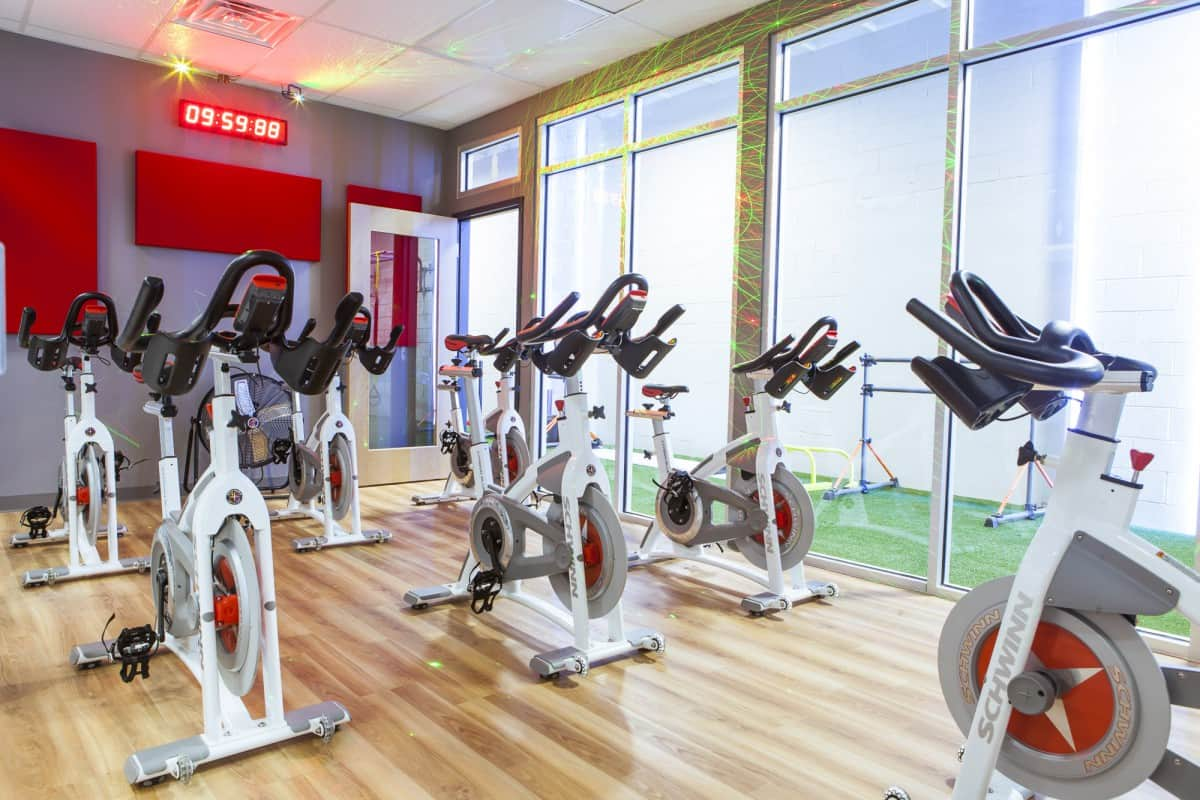 Training Station spinning cycling