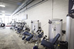 Training Station strength machines