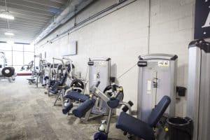 Training Station strength machines