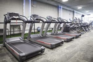 Training Station treadmill fleet