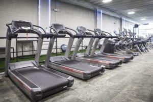 Training Station treadmill fleet