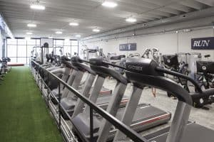 Training Station treadmills and track